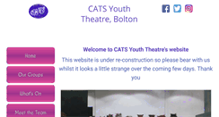 Preview of catsyouththeatre.org