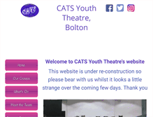 Tablet Preview of catsyouththeatre.org